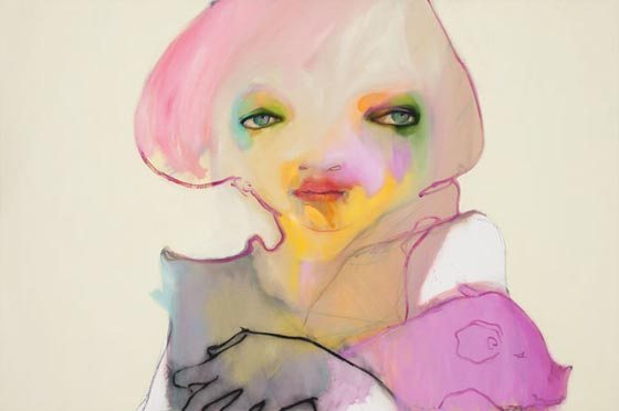 Hyper-coloured characters by Abbey Mc Culloch