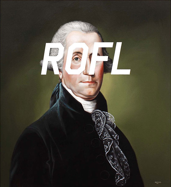 Oil on canvas by Shawn Huckins
