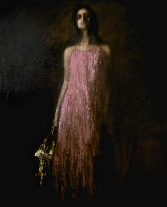Contemporary figurative art by Mark Demsteader