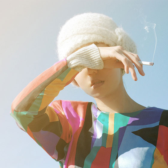 Fashion tests and dreamscapes by Valerie Chiang