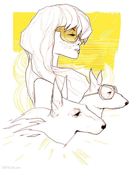 New drawings by Stéphane Tartelin