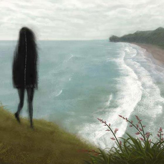 Emotional digital illustrations by Adam Tan