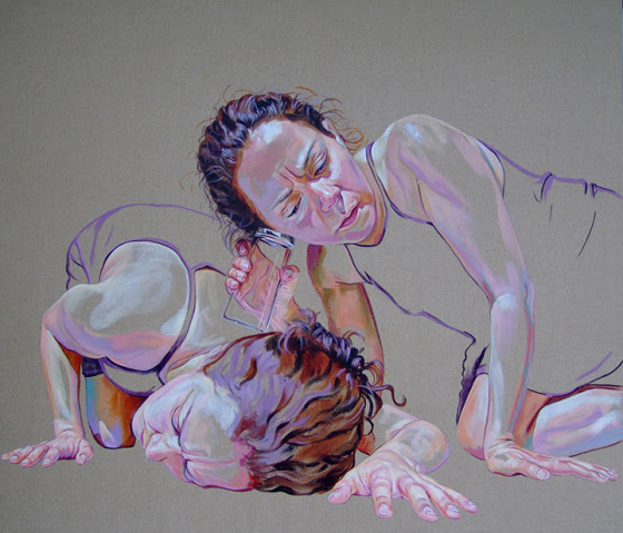 Acrylic paintings by Cristina Troufa