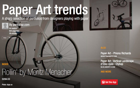 Paper Art trends magazine on Flipboard