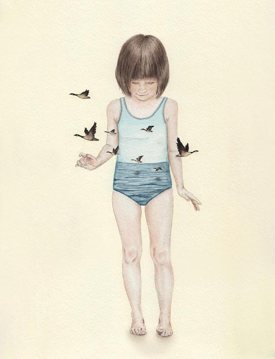 Illustrations en douceur par Tahel Maor