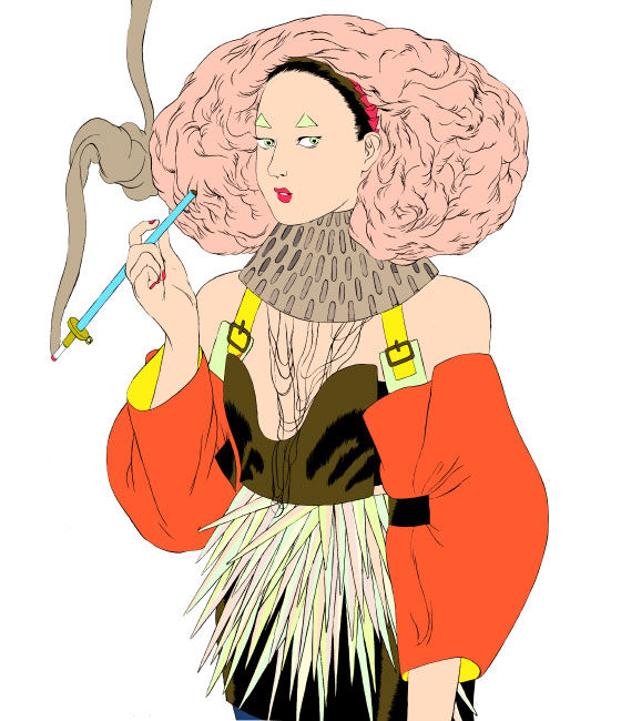 A fashion-fiction illustration blog: Wangie