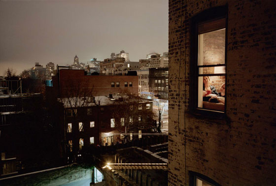 Out of my window, by Gail Albert Halaban