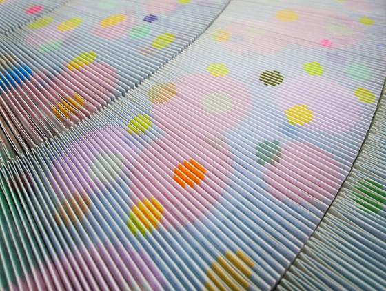 Complex paper art by Mia Wen-hsuan Liu