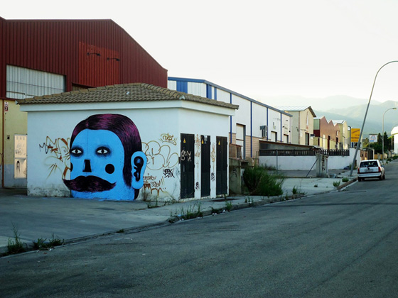 Street art et illustrations par Grip Face