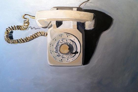 Les objets vintages peints par Jessica Brilli