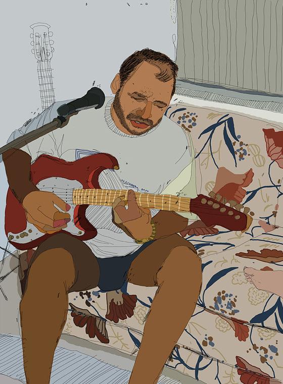 Digital illustrations by Tony Rodriguez