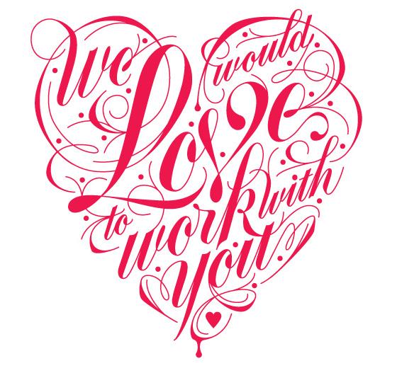 Dessin de lettres par Danielle Davis