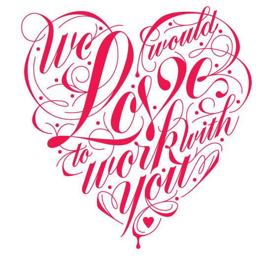Hand lettering by Danielle Davis