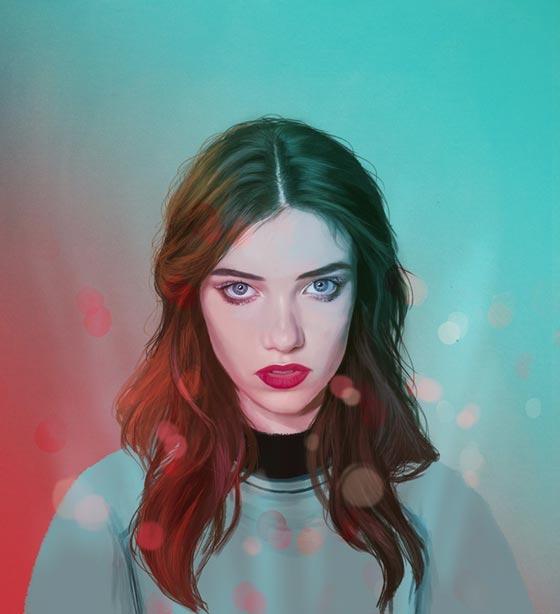 Peinture digitale par Kemi Mai