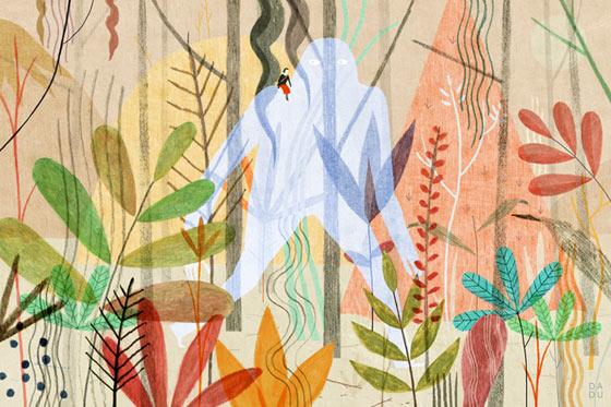 Les illustrations conceptuelles de Dadu Shin
