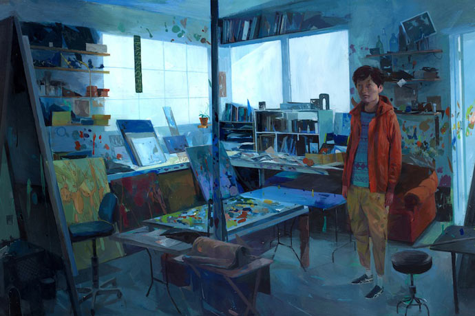 Colorful paintings by Andrew Hem