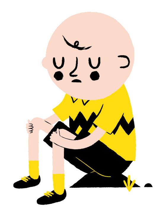 Les personnages stylés de Ben Javens