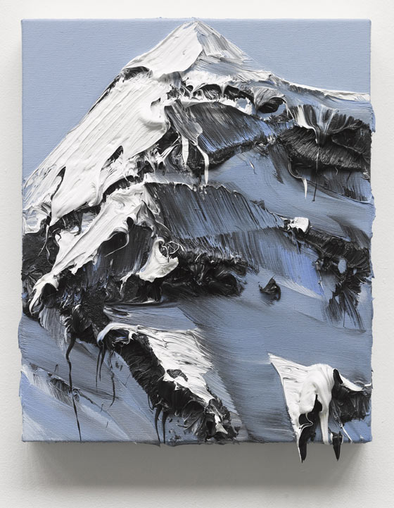 Mountain paintings by Conrad Jon Godly