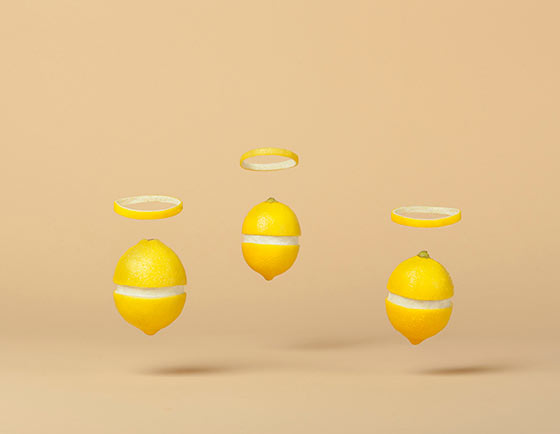 Playful food compositions by Marion Luttenberger