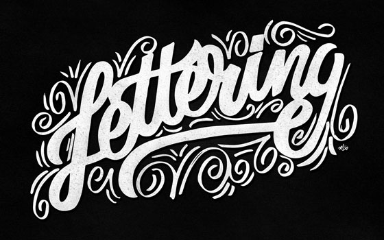 Hand lettering by Maia Then