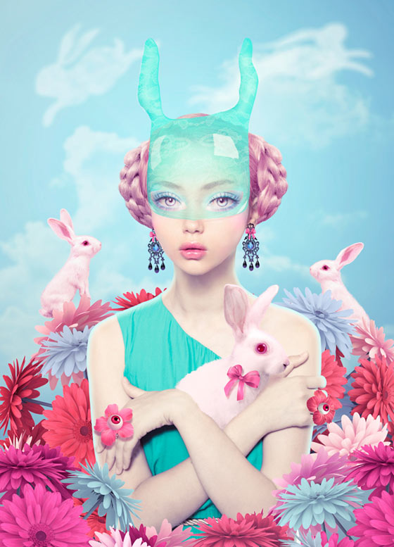 Les collages digitaux de Natalie Shau