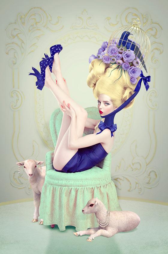 Digital art by Natalie Shau