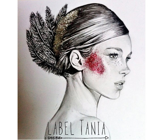 Fashion illustrations by Label Tania