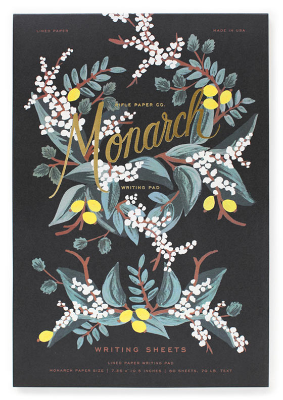 Floral illustrations and stationery by Anna Bond