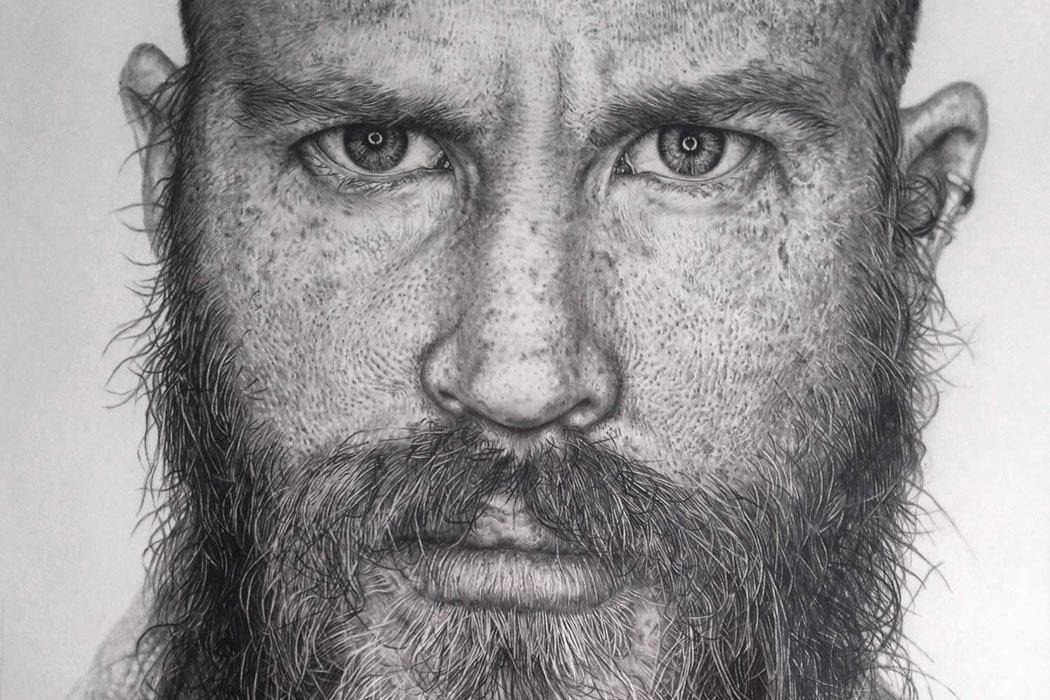 hyper realistic graphite drawings by monica lee partfaliaz