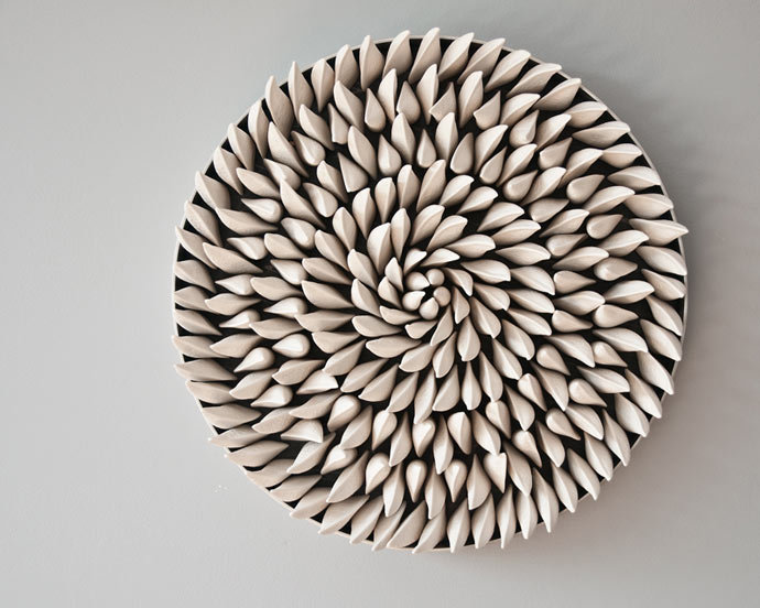 Ecological art by Marie-Andrée Côté
