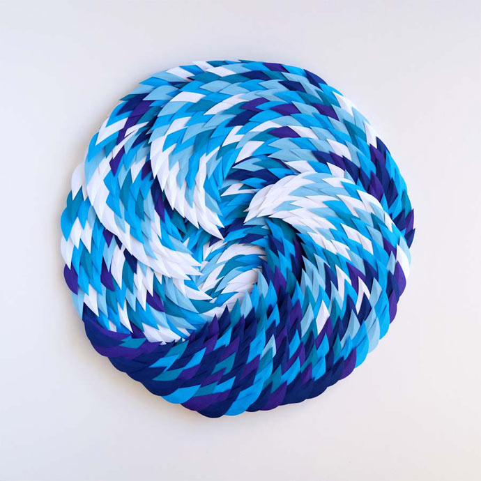 Waves and Ocean by paper artist Marine Coutroutsios