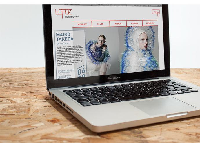 Topaz visual identity designed by Caroline Valette