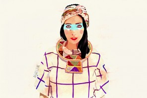 Fashion illustrations and portraits by Mamzelle Poppy