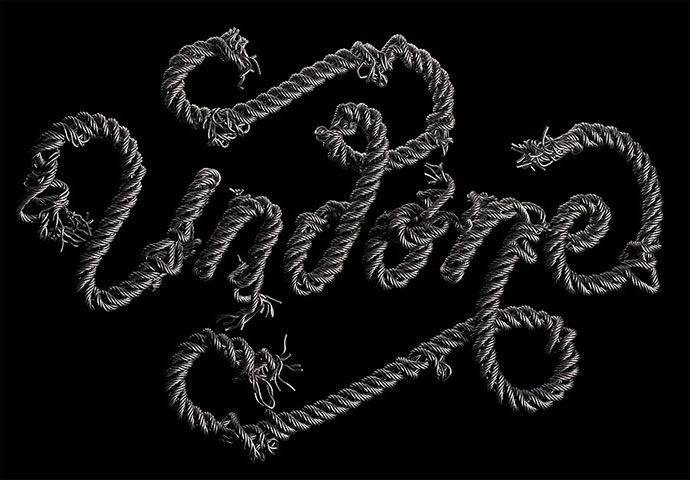 3D lettering and stunning compositions by David Mc Leod