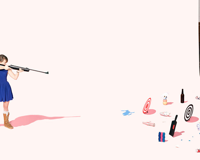 Graphic and elegant compositions by Andrew B. Myers
