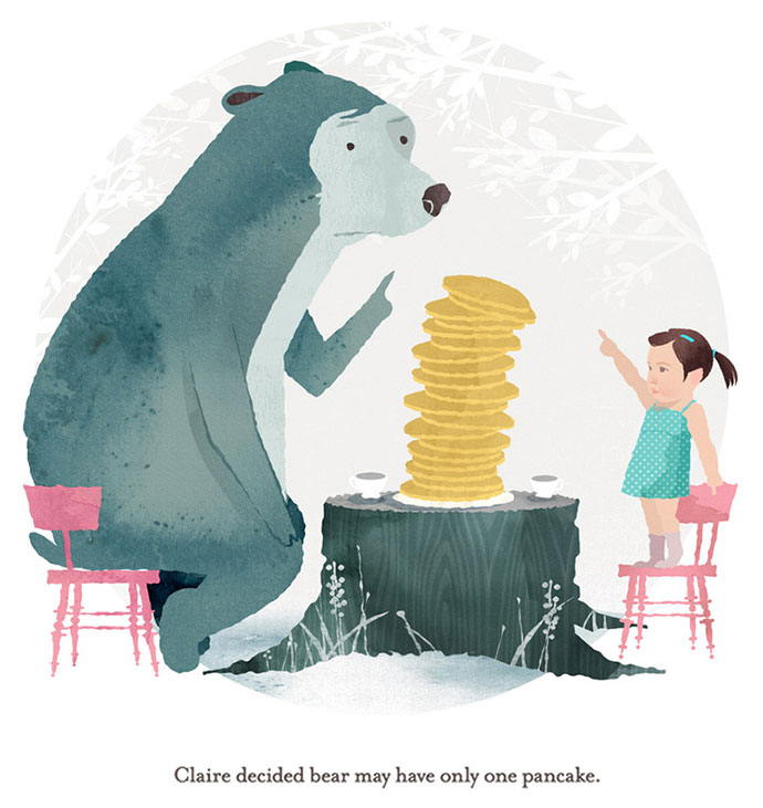 Children books illustrations by designer Brian Won