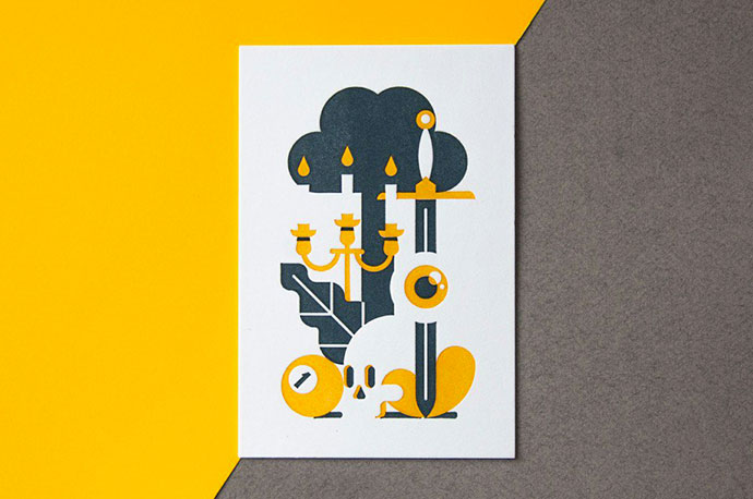 Minimalist vector illustration by Goran Factory