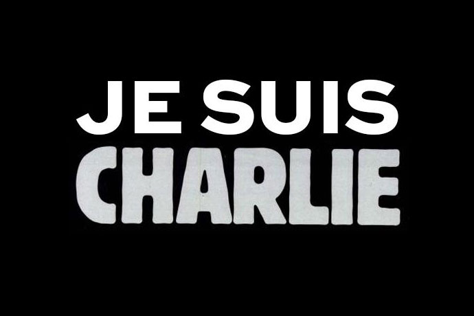 "Joachim Roncin creates the slogan ""Je suis Charlie"""