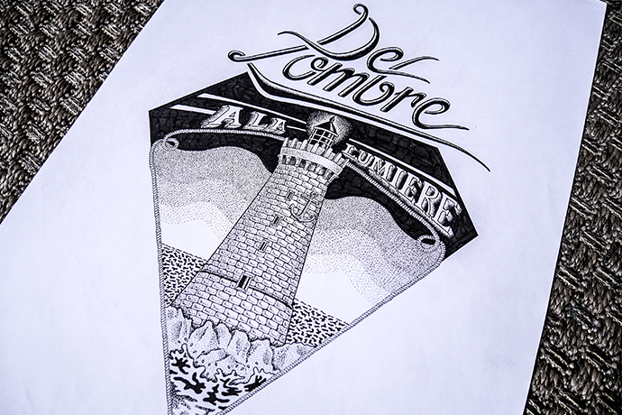 Vintage drawings making cool T-shirts by Flowhynot