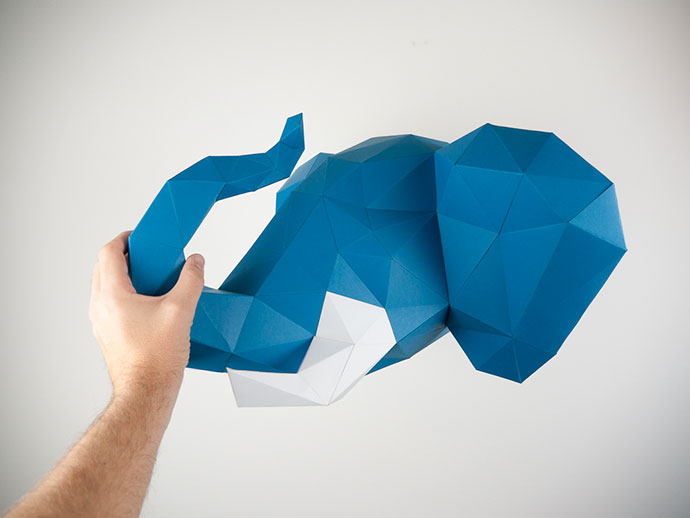 Paper Trophy, a project by Holger Hoffmann