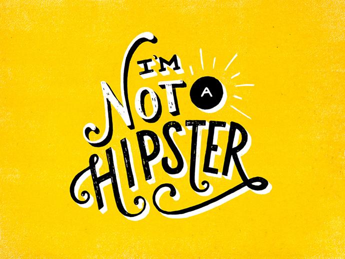 Colorful lettering by designer Lauren Hom