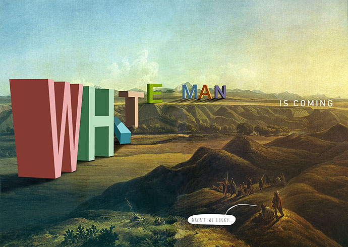 Typography landscapes by Philippe Debongnie