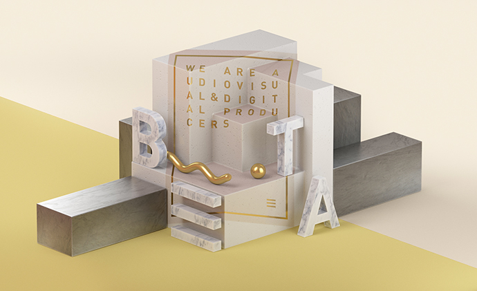 Graphic motion design and art direction by TAVO