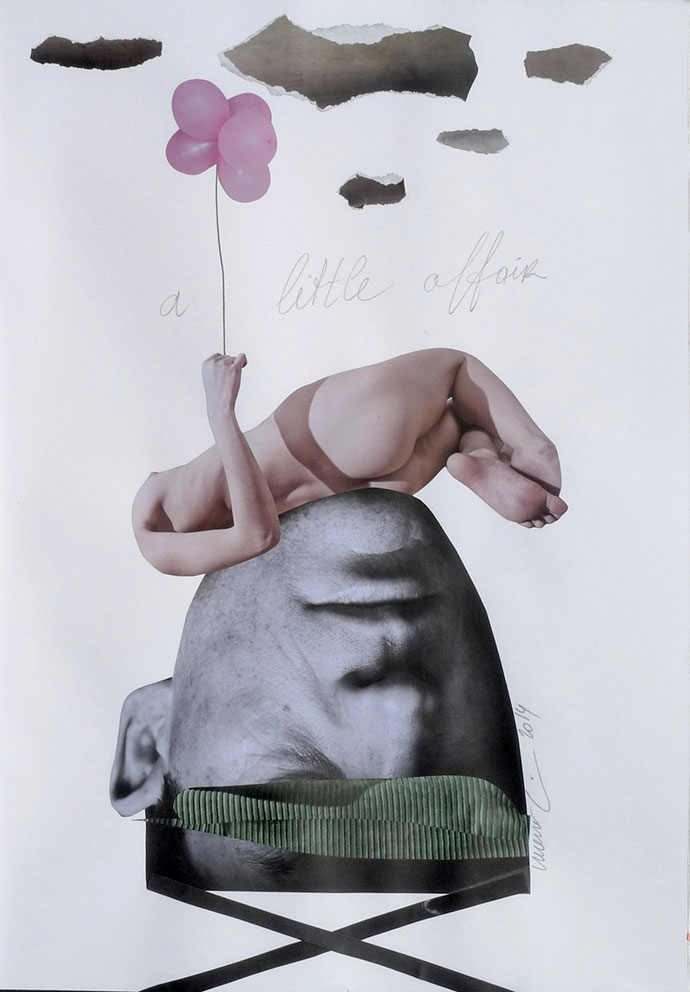Telling stories through collages by Vincent Junier