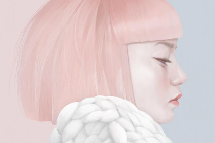 Fashion portraits and patterns by Hsiao-Ron Cheng