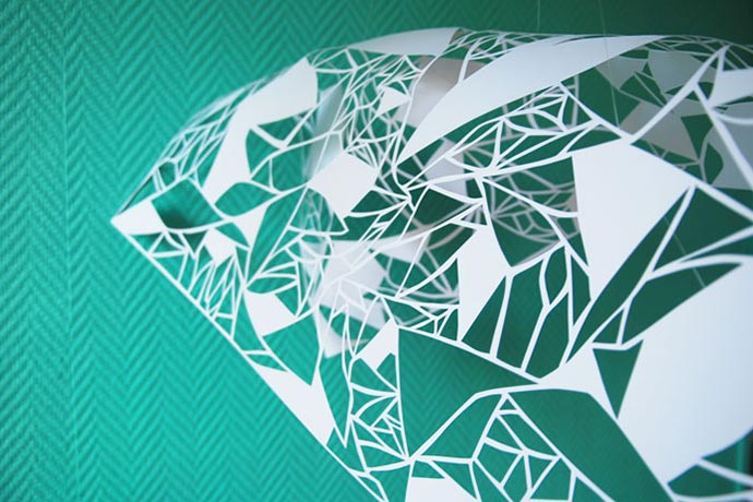 Paper art, tape art et set design par Laure Devenelle