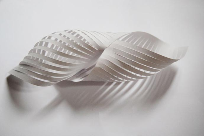 Paper art and set design by Laure Devenelle