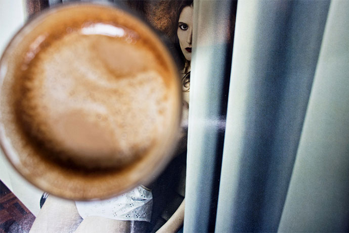 Café et mannequins, une série par Yangtan