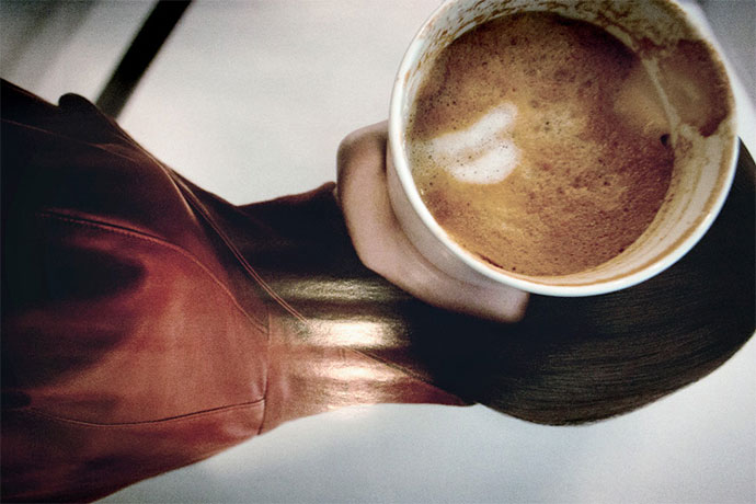 Coffee and models, a series by Yangtan
