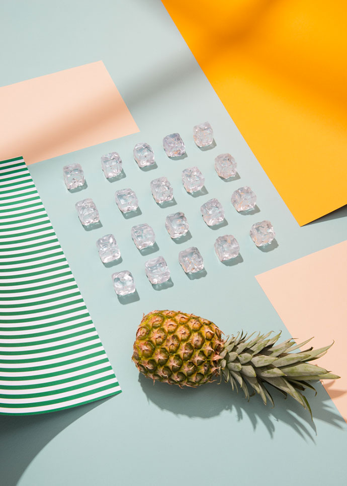 Colorful paper set design by Adrian & Gidi